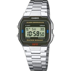 Мъжки часовник CASIO COLLECTION A163WA-1QES от krastevwatches.com - 1