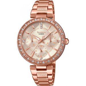 Дамски часовник Casio Sheen Swarovski Edition SHE-3068PG-4AUER от krastevwatches.com - 1