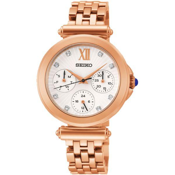 Дамски часовник Seiko Premier SKY666P от krastevwatches.com - 1