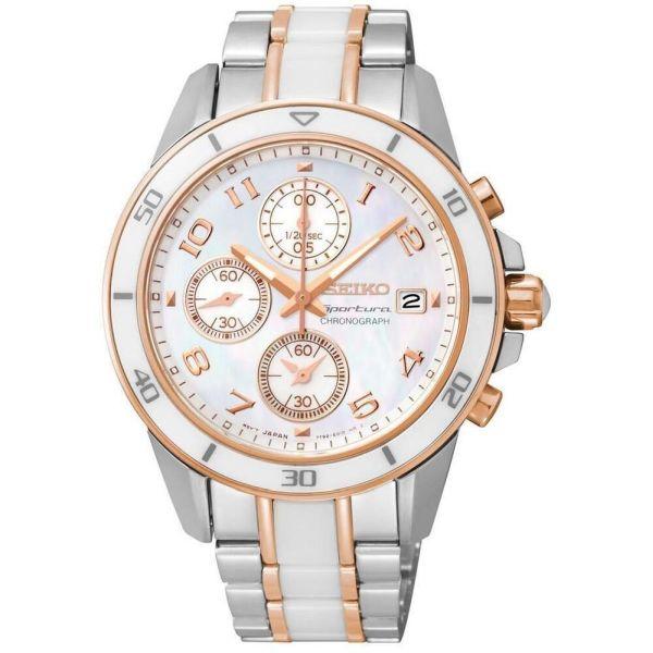 Дамски часовник Seiko Sportura Chronograph SNDX54P1 от krastevwatches.com - 1