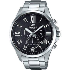 Мъжки часовник CASIO Edifice EFV-500D-1AVUEF от krastevwatches.com - 1