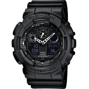 Мъжки часовник CASIO G-SHOCK GA-100-1A1ER от krastevwatches.com - 1