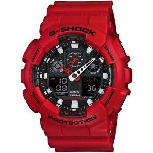 Мъжки часовник CASIO G-Shock GA-100B-4AER от krastevwatches.com - 1