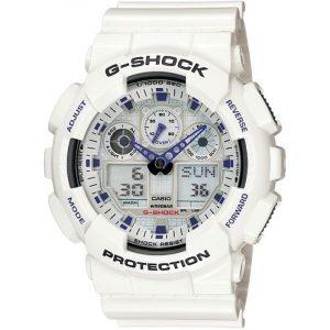 Мъжки часовник CASIO G-Shock GA-100B-7AER от krastevwatches.com - 1