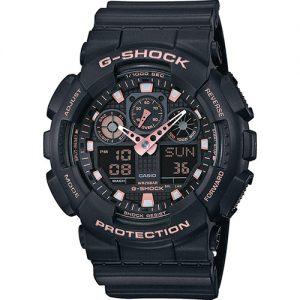 Мъжки часовник CASIO G-Shock GA-100GBX-1A4ER от krastevwatches.com - 1