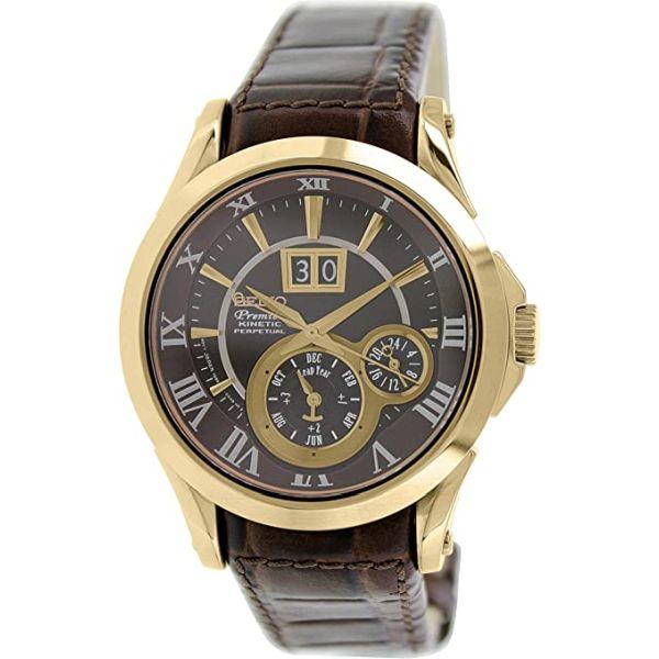 Мъжки часовник Seiko Premier Kinetic Perpetual Calendar SNP038P1 от krastevwatches.com - 1