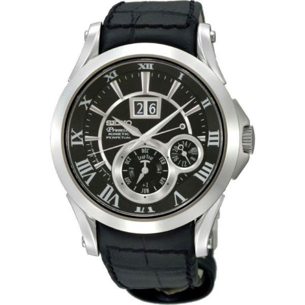 Мъжки часовник Seiko Premier Kinetic Perpetual SNP093P2 от krastevwatches.com - 1