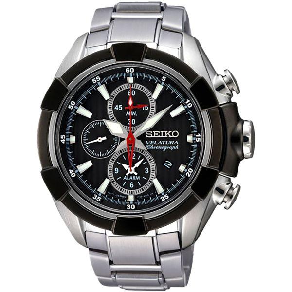 Мъжки часовник Seiko Velatura Alarm Chronograph SNAF39P1 от krastevwatches.com - 1