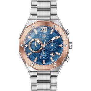 Мъжки часовник Santa Barbara Polo & Racquet Club SB.1.10196-3 от krastevwatches.com - 1